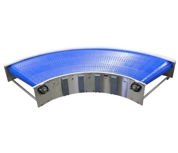 Bend Modular Belt Conveyor exporter