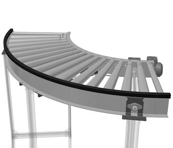 Bend Roller Conveyor manufacturer