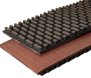 Checkered-conveyor-belts