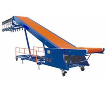 Dockless Truck Loading Conveyor manufactured