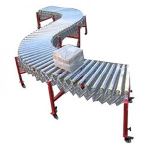Flexible Powerised Roller Conveyor
