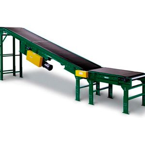 Inclined Belt Conveyors manufactured