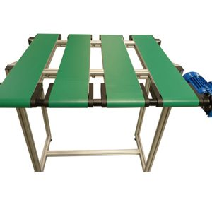 Plastic belt conveyor Manufactured
