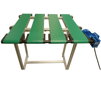 Plastic-belt-conveyor