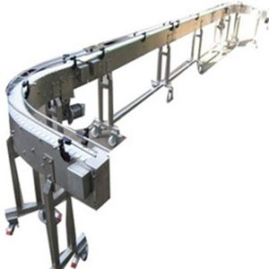 SS Slat Chain Conveyor manufactured