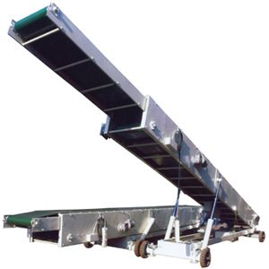 Telescopic Belt Conveyors manufactured
