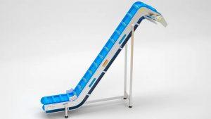 Modular Infeed Conveyor for Chocolate Industry