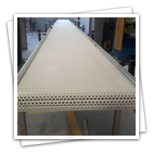 Table Top Beltfor bearings industries, Table Top Conveyor Belt for Ice cream finish goods.