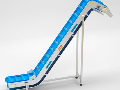 Z Shaped Modular Inclined Conveyor System