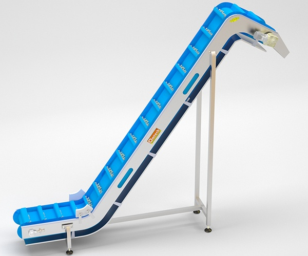 Z Shaped Modular Inclined Conveyor System Manufacturer , Supplier & exporter in india , USA , UE