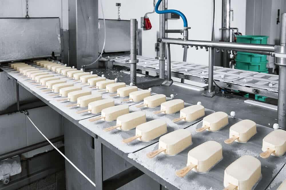 conveyor belt for ice creame